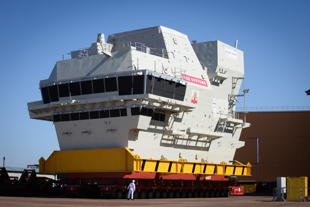 Three times the size of the Invincible Class Aircraft Carriers, these huge ships use the latest technology and equipment, enabling them to operate with a streamlined crew of 679
