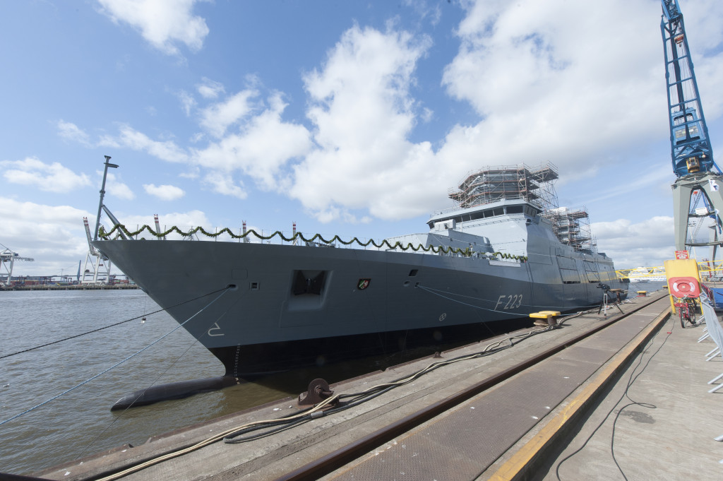 The ships will be stationed at the naval base of Wilhelmshaven