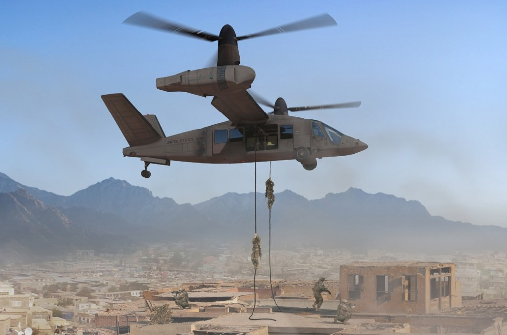 In August 2014, the JMR-TD government team selected Bell Helicopter to build and fly the V-280 Valor as part of the demonstration program