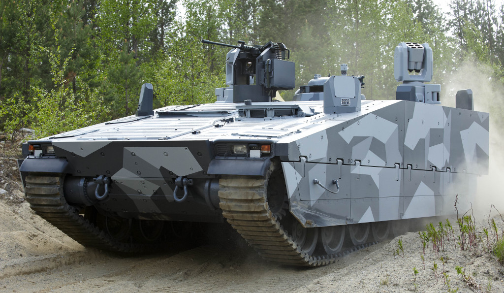 F1 technology adapted to CV90