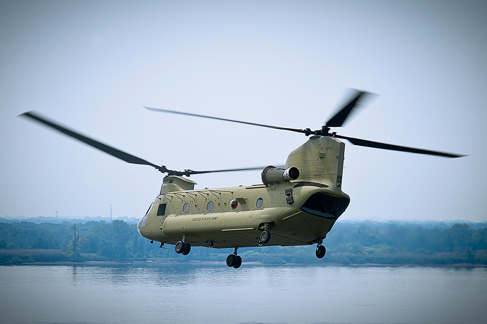 The Chinook is a true multi-role, vertical-lift platform. Its primary mission is transport of troops, artillery, equipment, and fuel