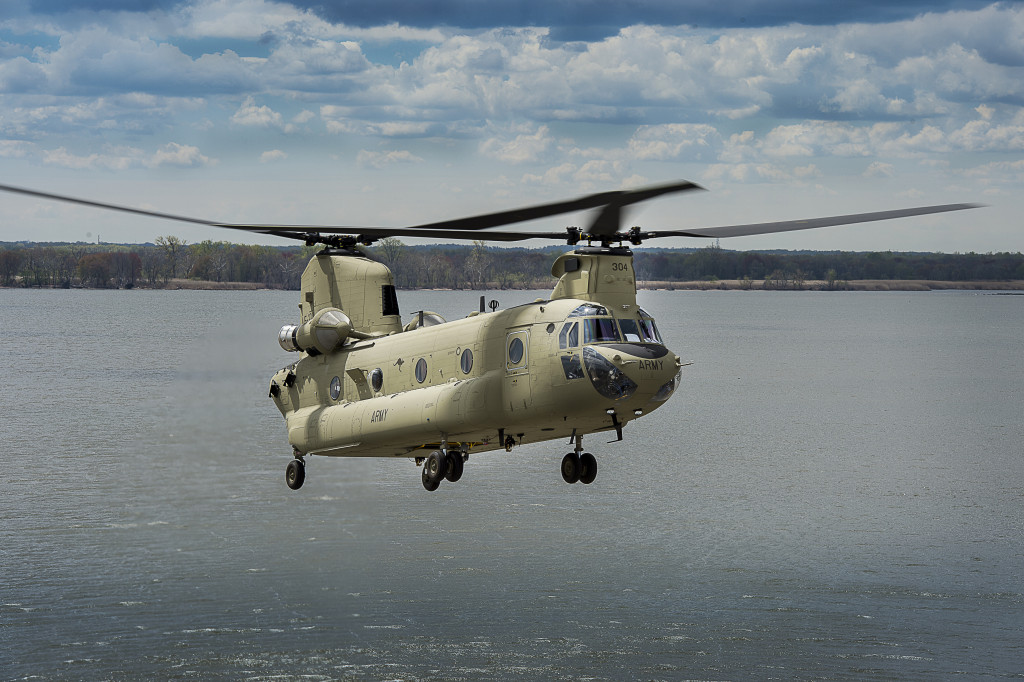 Boeing has delivered the first two of seven CH-47F Chinooks to the Australian Army at a ceremony in Queensland. The remaining aircraft will be delivered throughout 2015 (Boeing photo)