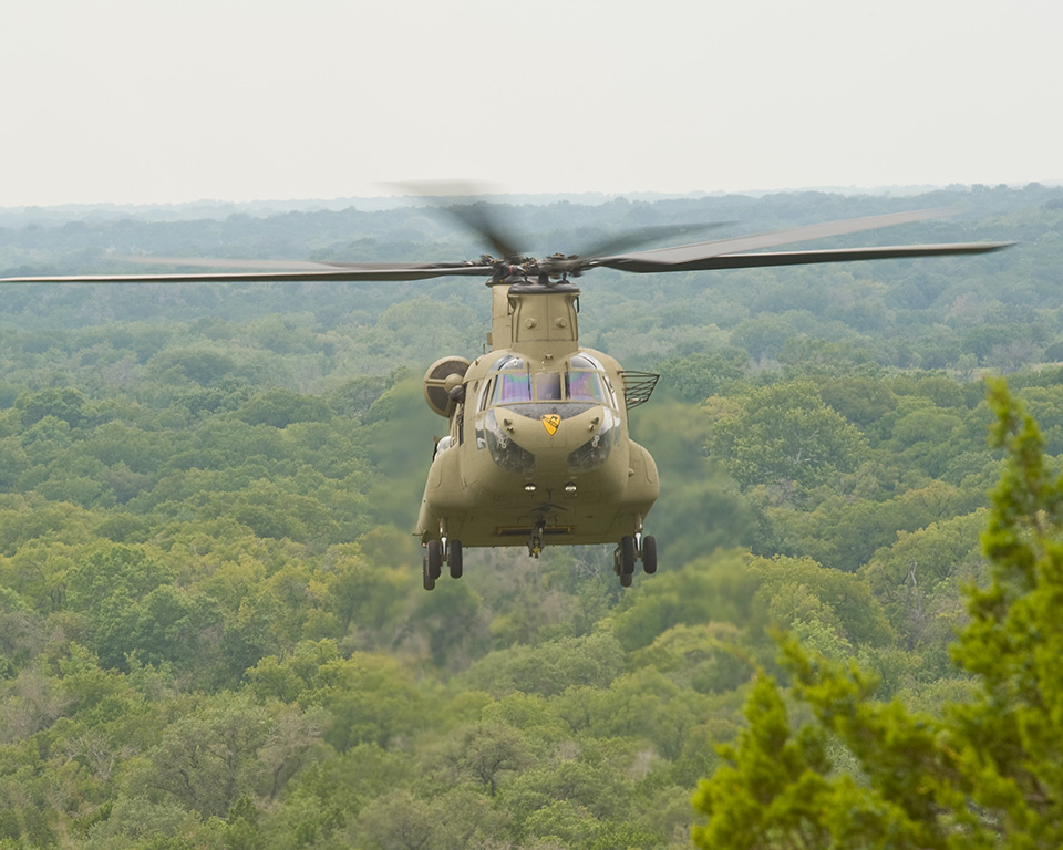 Chinooks serve the armed forces of 19 countries around the world