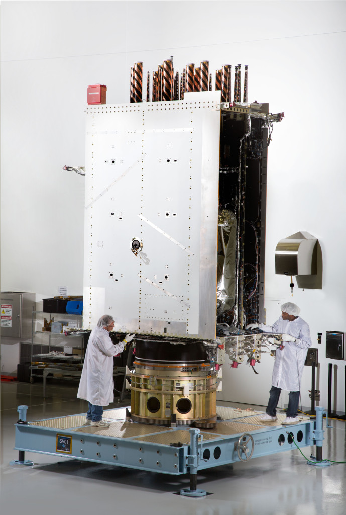 Lockheed Martin recently fully integrated the U.S. Air Force's first next generation GPS III satellite at the company's Denver-area satellite manufacturing facility.  The first in a design block of new, more powerful and accurate GPS satellites, GPS III Space Vehicle One is now preparing for system-level testing this summer