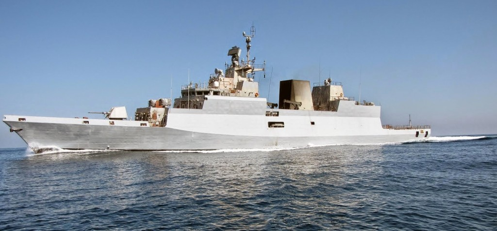 INS Kamorta is the first of four anti-submarine Kamorta-class stealth corvettes which has been built for the Indian Navy