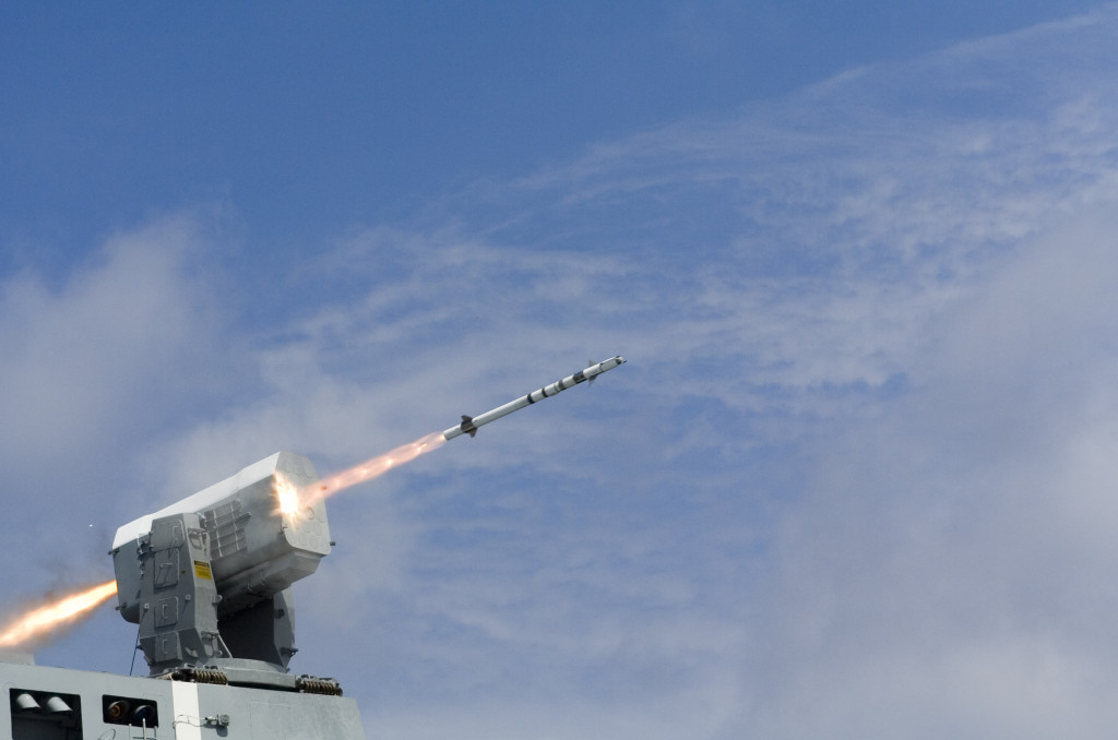 The Rolling Airframe Missile provides world-class ship self-defense for U.S. Navy carriers, amphibious ships and littoral combat ships