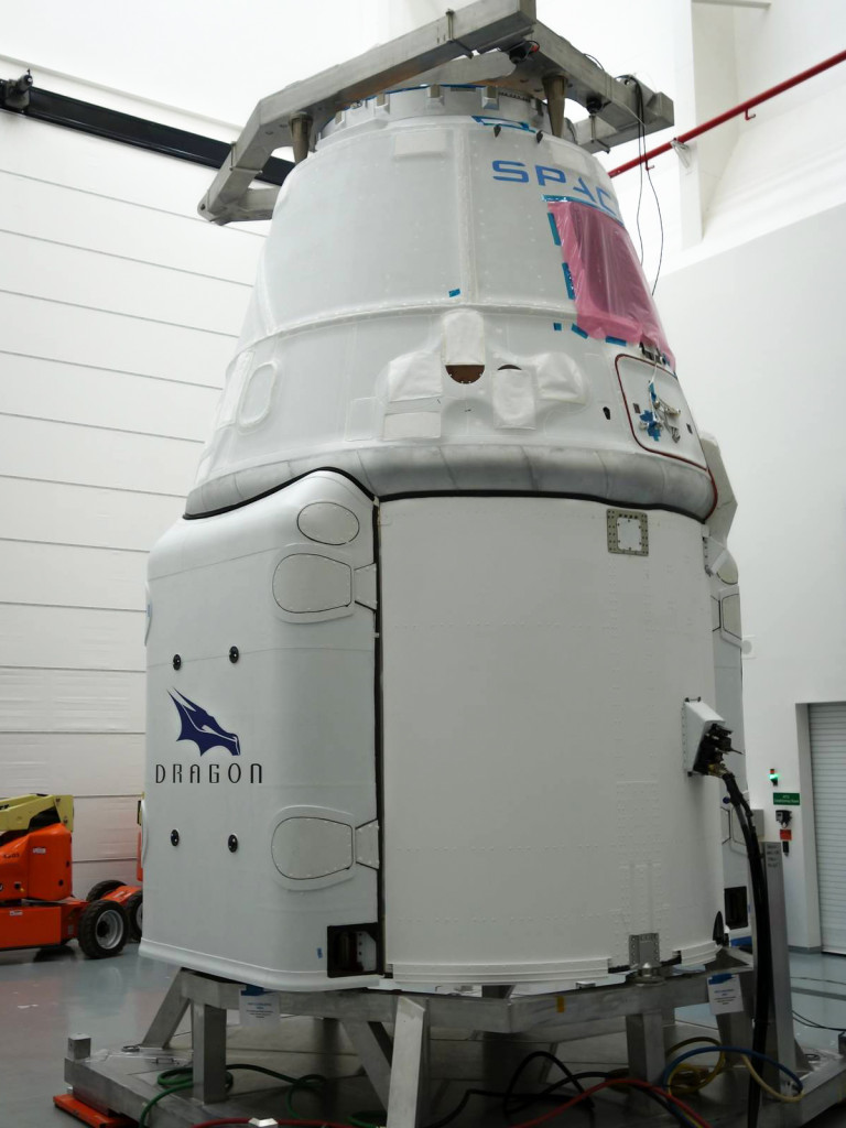 Dragon is a free-flying spacecraft designed to deliver both cargo and people to orbiting destinations