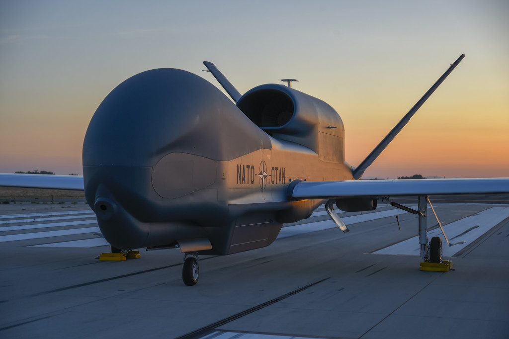 The NATO AGS aircraft will be a major contribution to NATO's Joint Intelligence, Surveillance & Reconnaissance capability and a key building block for NATO Network Enabled Capability operations (Photo courtesy of Northrop Grumman)