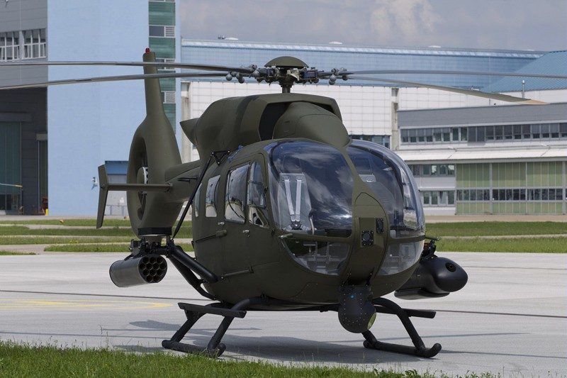 The H145M is equipped with a modern digital glass cockpit, Night Vision Goggle compatibility, and Airbus Helicopters' advanced Helionix avionics suite with a 4-axis digital autopilot
