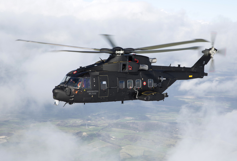 The Italian air force is introducing into service the AgustaWestland HH-101 Caesar combat search and rescue helicopter, which will replace the earlier Sikorsky HH-3F Jolly Green Giants of Vietnam War fame (AW photo)