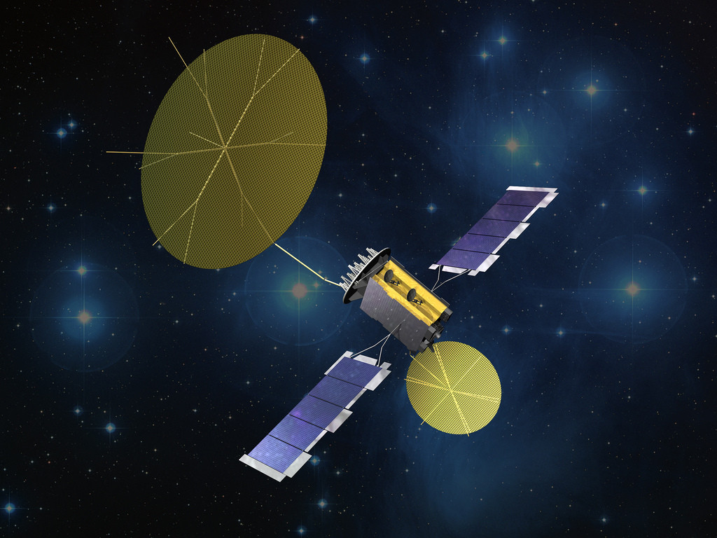 This third satellite extends MUOS network's coverage over more than three-quarters of the globe