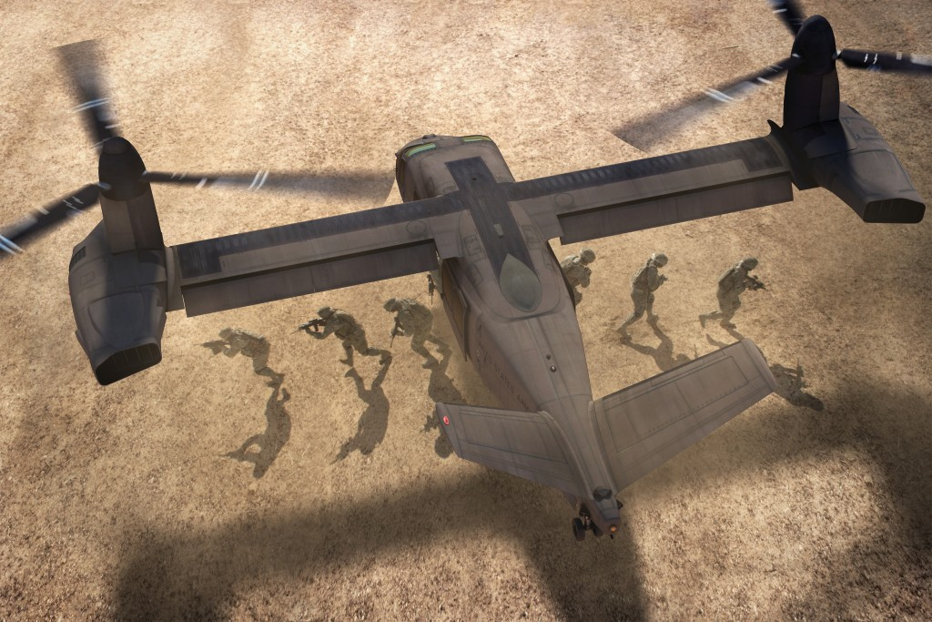 Advanced tiltrotor to offer significant capabilities increase in speed, range and access