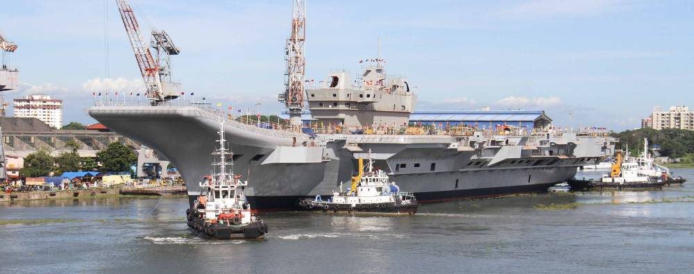 Vikrant, weighing about 22,000 tonnes now, will continue to be outfitted for over a year and a half now before the basin and sea trials begin ahead of delivery