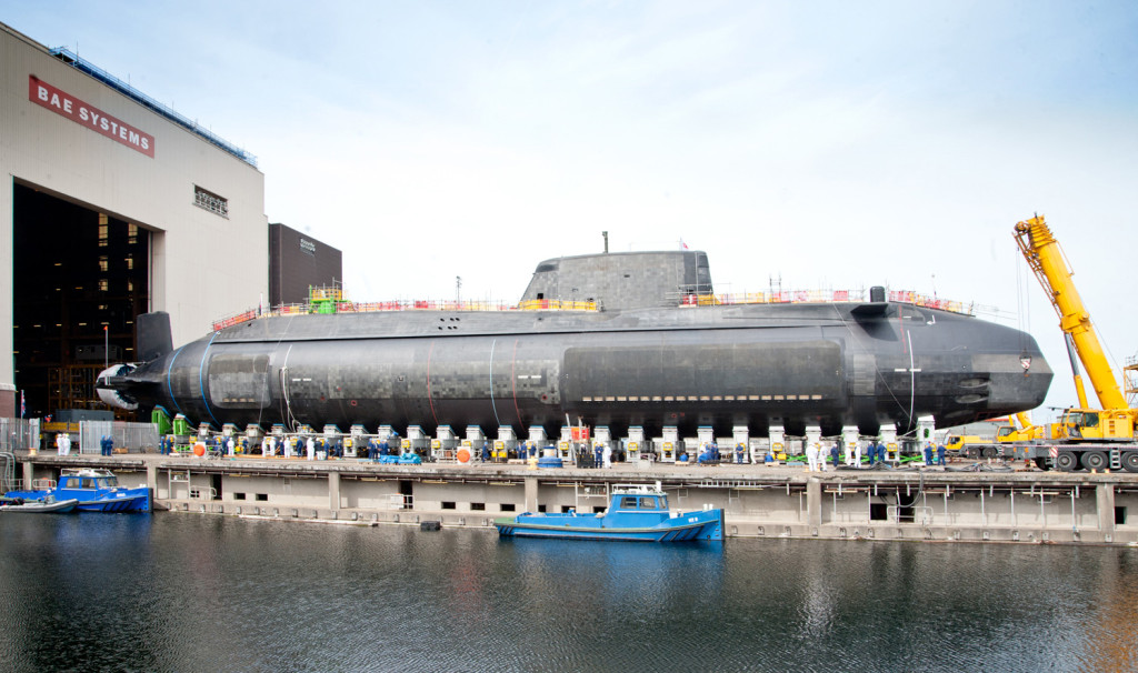 HMS Artful, the third of the Royal Navy's seven Astute-class attack submarines, is currently preparing to leave the construction yard in Barrow-in-Furness for sea trials, before joining the Royal Navy fleet around the end of this year