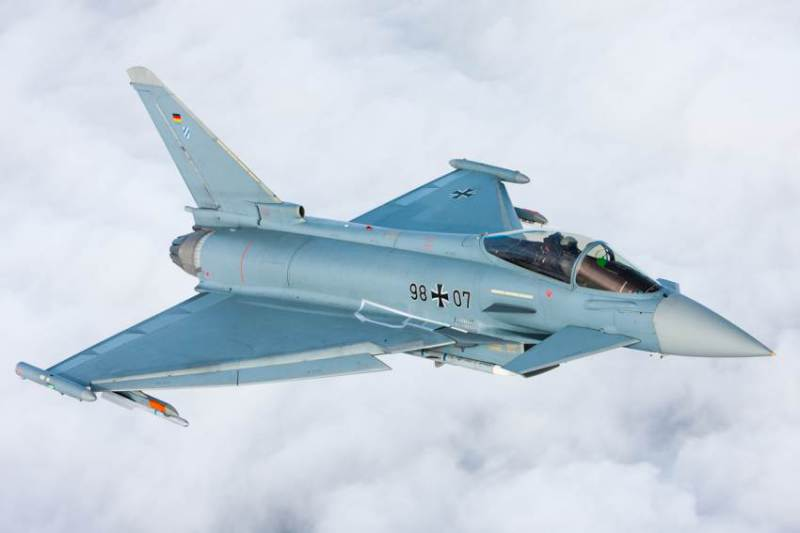 Flight-test of Eurofighter Aerodynamic Upgrades Completed