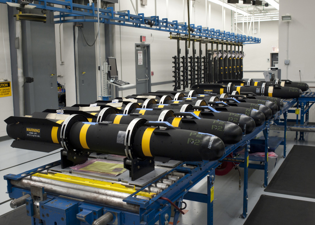 All multi-mode guidance sections and missiles are manufactured on the same active production lines that we will use in the Engineering and Manufacturing Development (EMD) phase