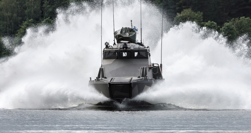 Finland has ordered 12 of these fast, maneuverable vessels