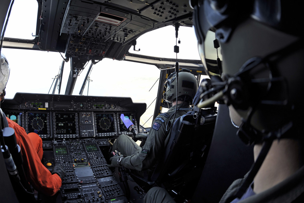 The NH90's integrated avionics suite and glass cockpit facilitates the crew's control and interface with helicopter systems and the communications suite, as well as flight, navigation and mission aids. This enables an effective management for mission success and safety in all operating conditions