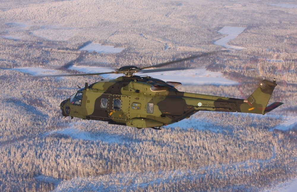 Airbus Helicopters and Patria, its local licensee, have delivered the 20th and final NH90 Tactical Transport Helicopter (TTH) to the Finnish Armed Forces, which have logged 7,500 flight hours on the type (Finnish Defence Forces photo)