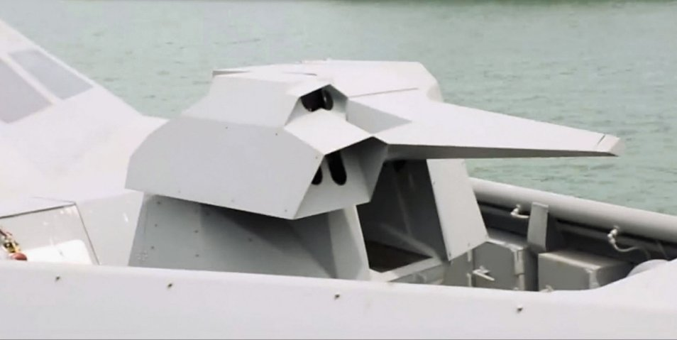The Specialised Marine Craft is armed with a stabilised 12.7-mm OTO Melara Hitrole G remote weapons station, which features a low radar cross section shield design
