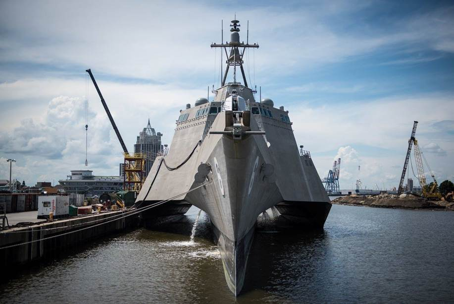 Defence vessels designed and built by Austal include focused-mission combatants, such as the Littoral Combat Ship (LCS) for the United States Navy
