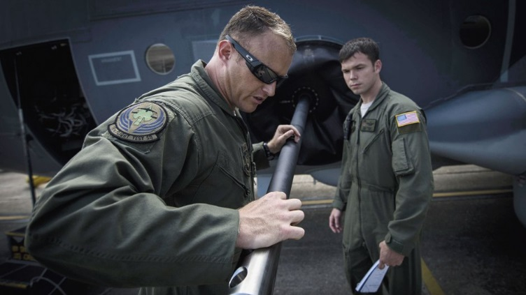 AFSOC flight crew inspects the armament of the first AC-130J Ghostrider gunship to arrive at Hurlburt Field in Florida. The air force expects to field 32 such aircraft once deliveries are complete (Source: US Air Force)