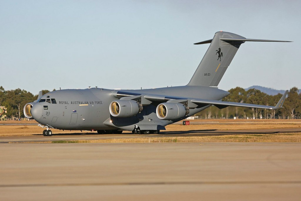 An eighth C-17A will be delivered to Australia by late 2015