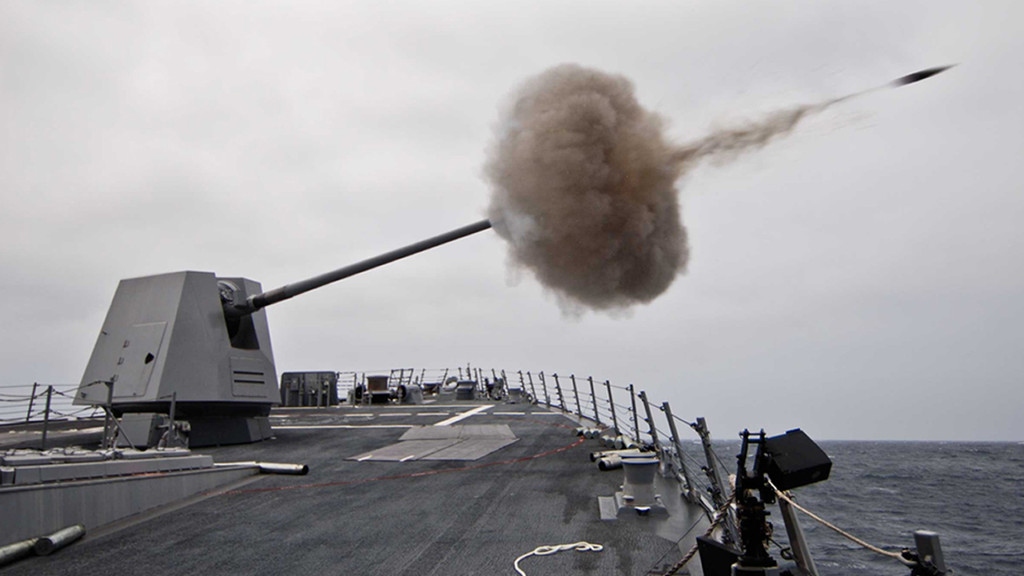 The most compact 5-inch/127-mm fully automatic naval gun in the world
