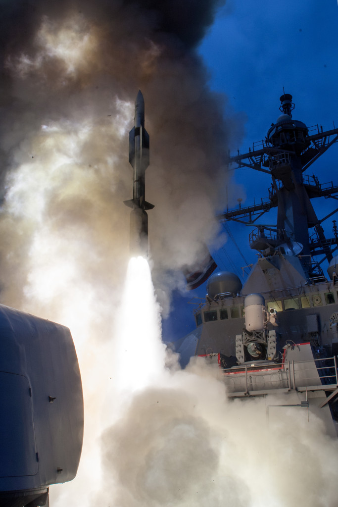 SM-6 has been selected to fulfill the U.S. Navy's Sea-Based Terminal (SBT) role and will provide defense against ballistic missiles in their terminal phase of flight, succeeding the SM-2 Block IV missile