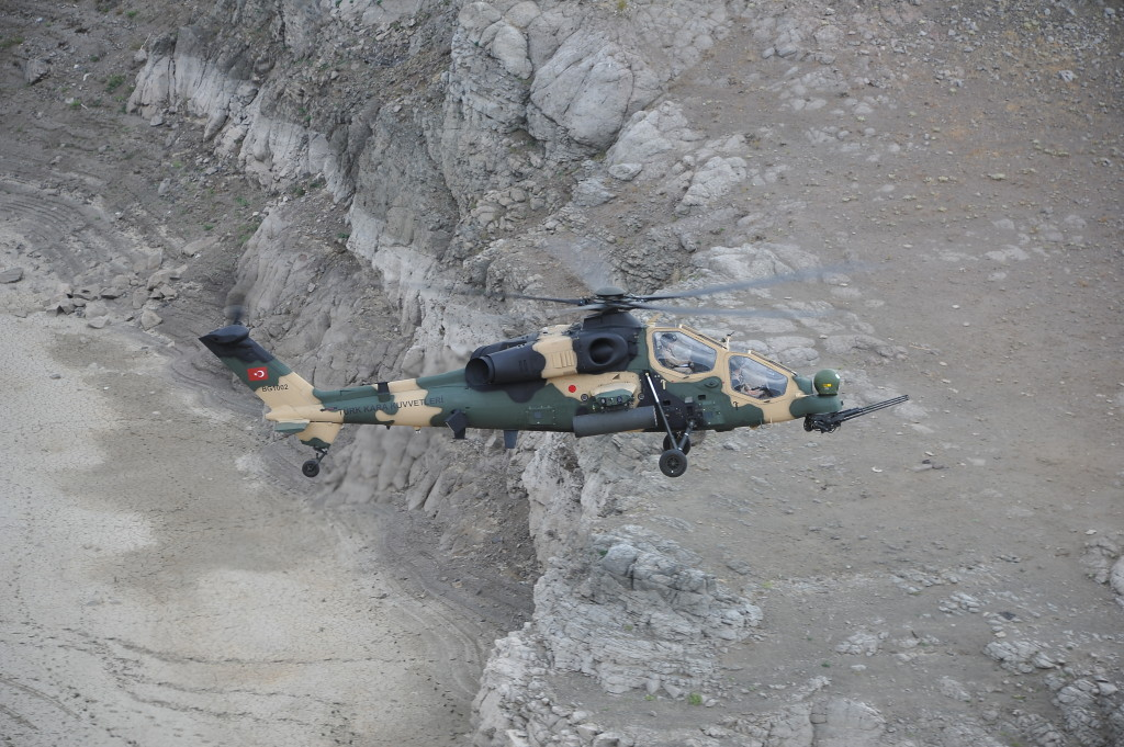 T129 ATAK developed from the combat proven AgustaWestland A129CBT