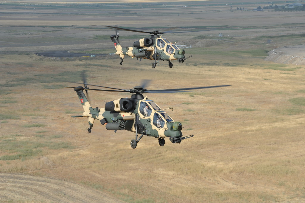 The T129 ATAK Advanced Attack and Tactical Reconnaissance Helicopter is a candidate for the KRUK Program of the Polish Armed Forces