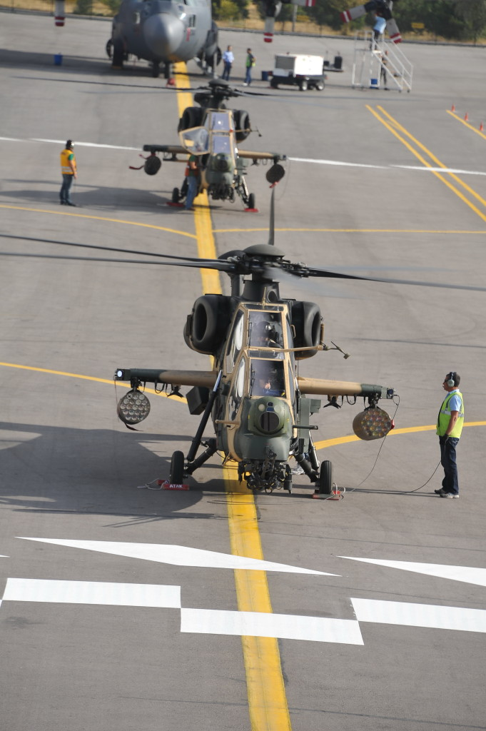 The first TAI-manufactured helicopter was delivered to Turkish Land Forces by the end of April 2014