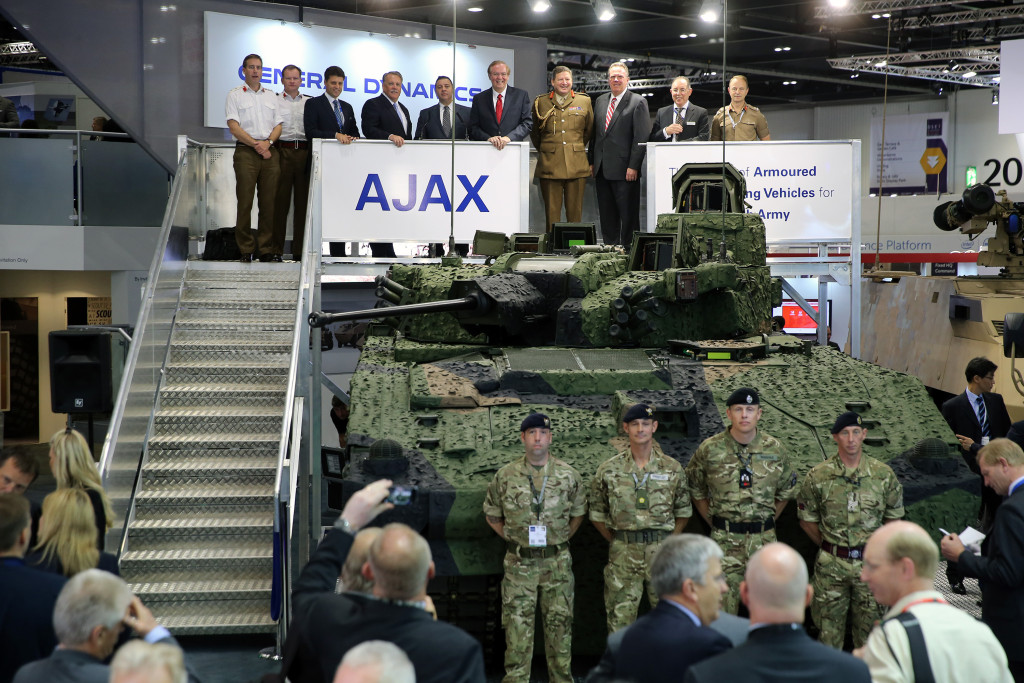 General Dynamics demonstrates Armoured Fighting Vehicle capability at DSEI 2015