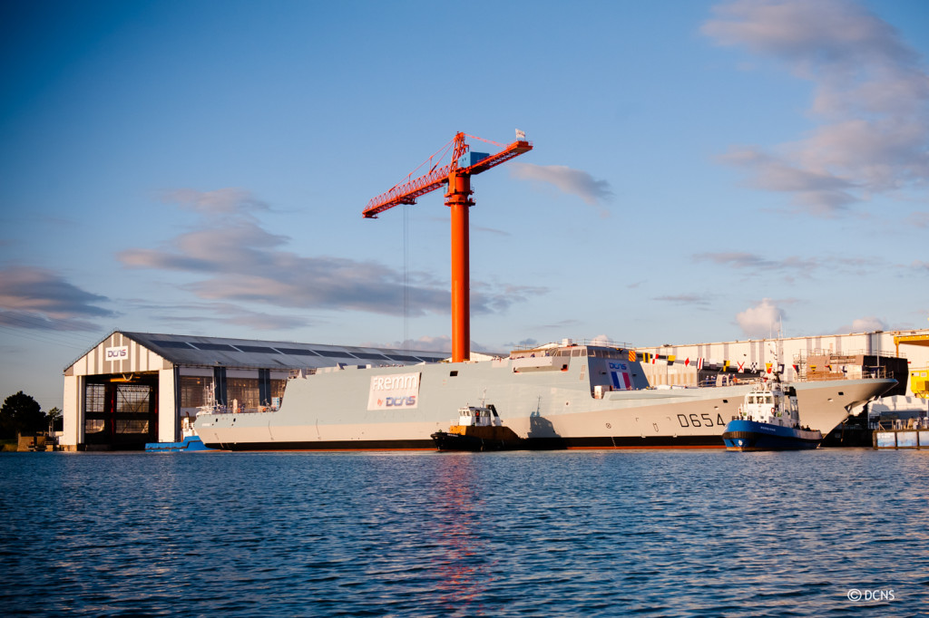 DCNS commenced construction of the FREMM Auvergne in August 2012