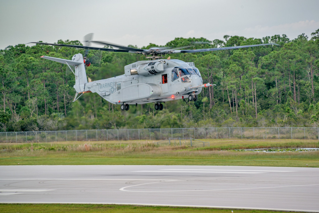 CH-53K Helicopter Achieves First Flight