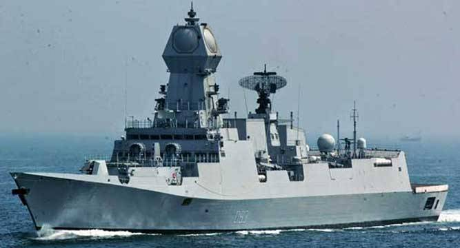 INS Chennai, the third Project 15A destroyer, is scheduled for commissioning by the end of 2016
