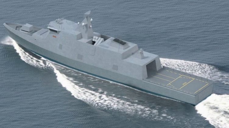 Concept image of the Finnish Navy's planned new «Laivue 2020» (Squadron 2020) vessels, four of which will replace the country's existing Rauma-class and Hämeenmaa-class vessels