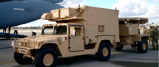 United States Delivers Two Q-36 Counter Battery Radar Systems to Ukraine
