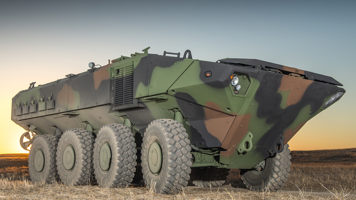 BAE Systems' Amphibious Combat Vehicle 1.1 (BAE Systems photo)