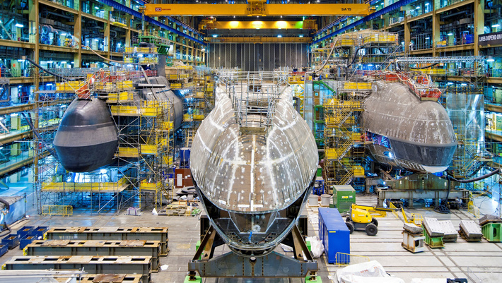 £1.3 Bn Contract Awarded for Fifth Attack Submarine