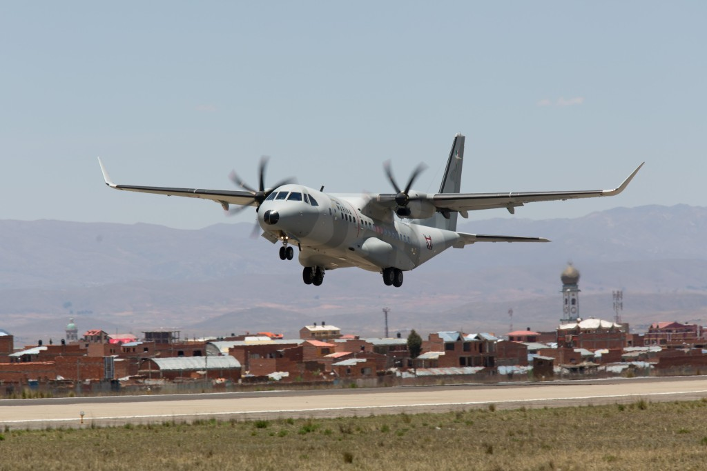The Airbus Military C295W is a new generation, very robust and reliable, highly versatile tactical airlifter