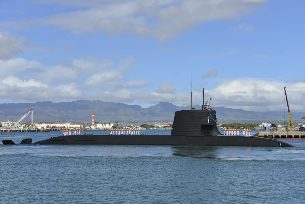 Japan will present three options for building the subs: in Australia, in Japan or in a split arrangement