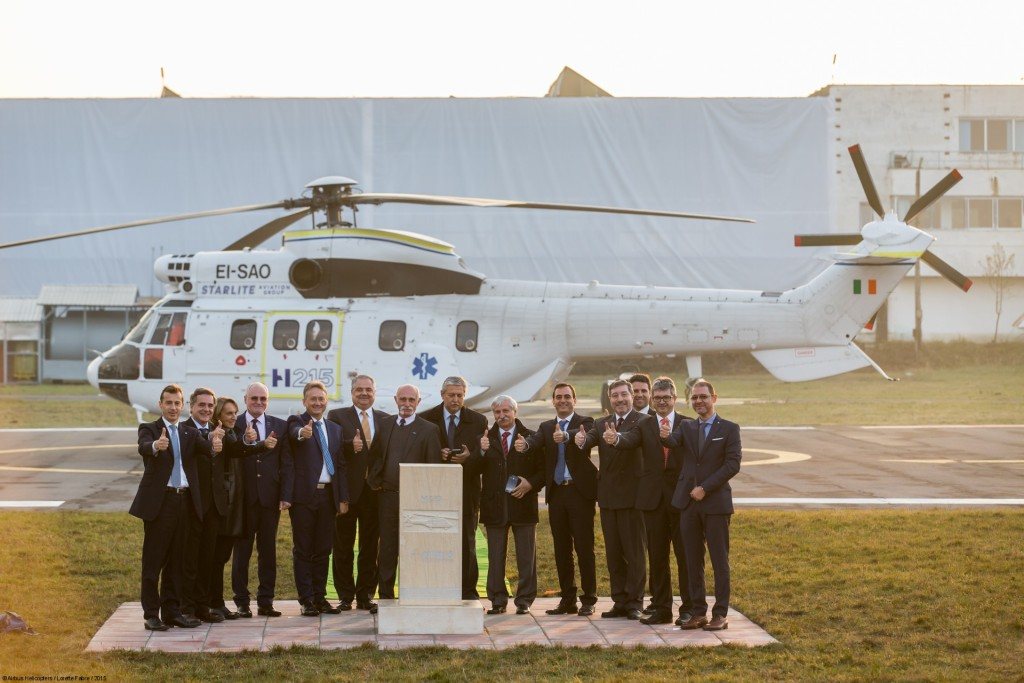 Official launch of Airbus Helicopters Industries in Brasov, Romania