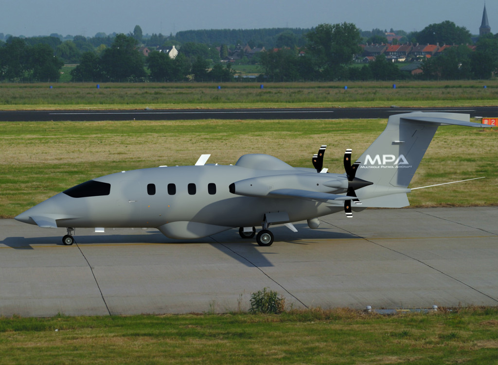 First roll out for the new MPA – Multirole Patrol Aircraft