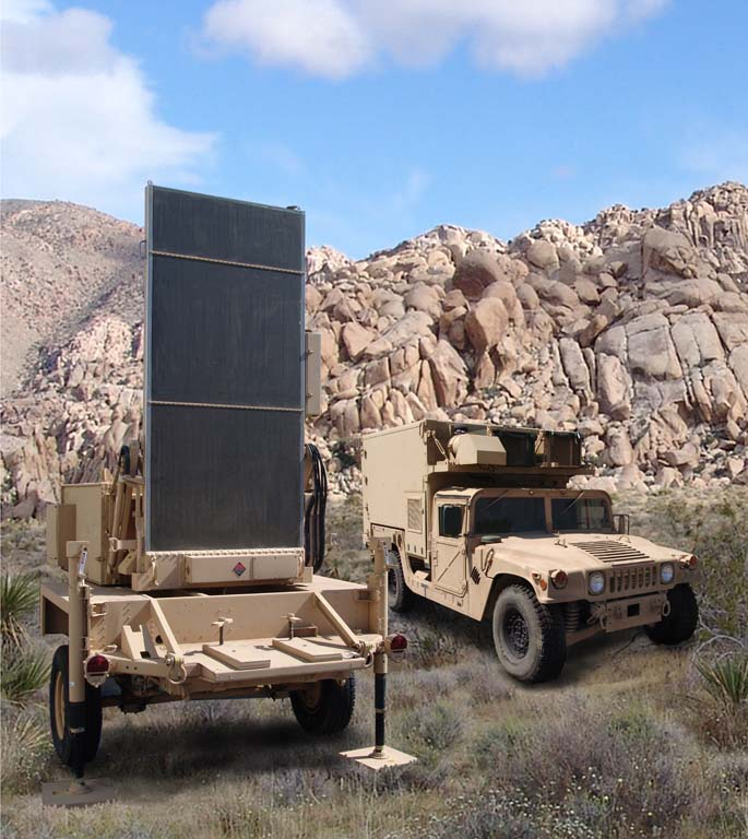 The compact, mobile, combat proven AN/TPQ-36 Firefinder weapon locating radar accurately, rapidly and automatically locates medium-range enemy mortars, artillery and rocket launchers. It can handle simultaneous fire from weapons at multiple locations, detecting and reporting their positions on the first round