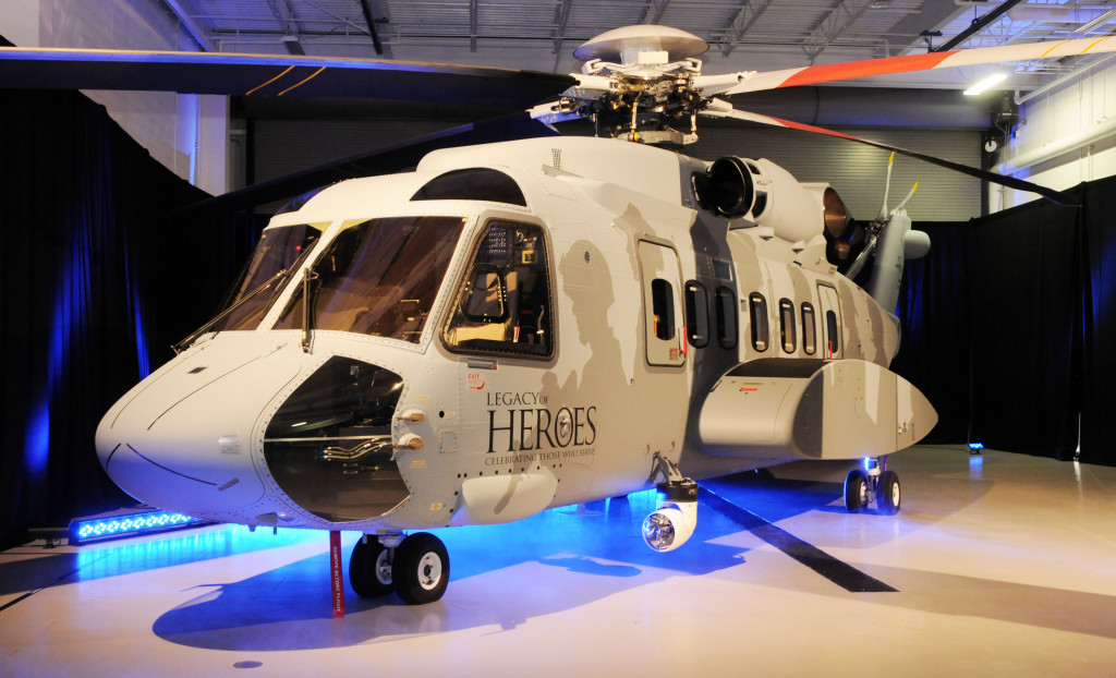 H-92 helicopter is the military version of the company's commercial S-92 helicopter