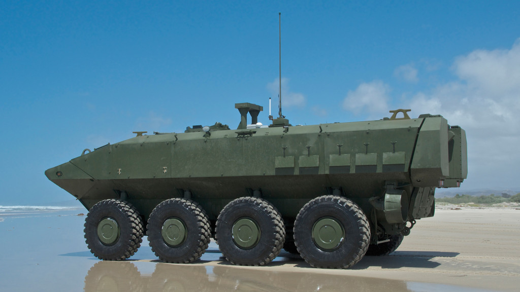 The ACV 1.1 is not required to self-deploy from the well deck of an amphibious ship to the shore, since the Marine Corps decided to wait and introduce that requirement into ACV 1.2, which will also feature mission-based variants of the vehicle