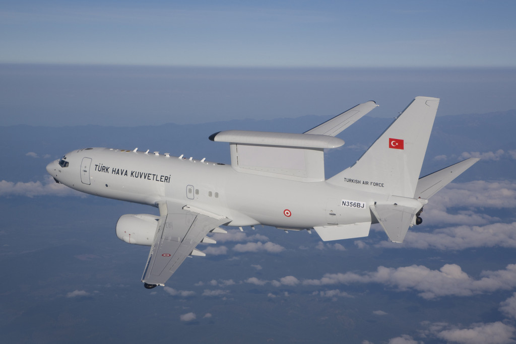 Boeing delivered the fourth and final Airborne Early Warning & Control Peace Eagle to Turkey, completing Turkey's fleet and enhancing its airspace surveillance capabilities