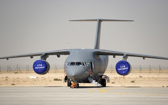 Saudi Arabia plans to assemble it under license and to procure other Antonov medium twin-engined transports, such as the An-132 and the An-148
