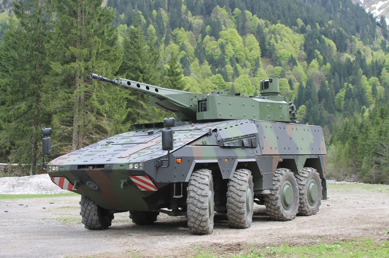 Lithuania has decided to order the Boxer heavy wheeled vehicle, in a combat version fitted with a 30-mm turret (Artec GmbH photo)